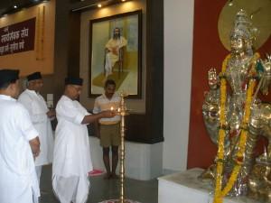 Dr Krishna Gopal, Saha-Sarakaryavah of RSS inaugurates Sangh Shiksha Varg-2013 at Maharshi Vyasa Mandir, Nagpur.