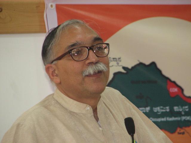 Arun Kumar, Director of Jammu-Kashmir Study Centre