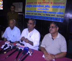 Dr Krishna Gopal ji at Uttarakhand
