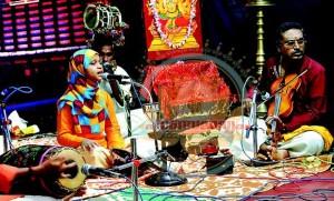 Hanna Yasir, Muslim Girl learning Karnataka Music
