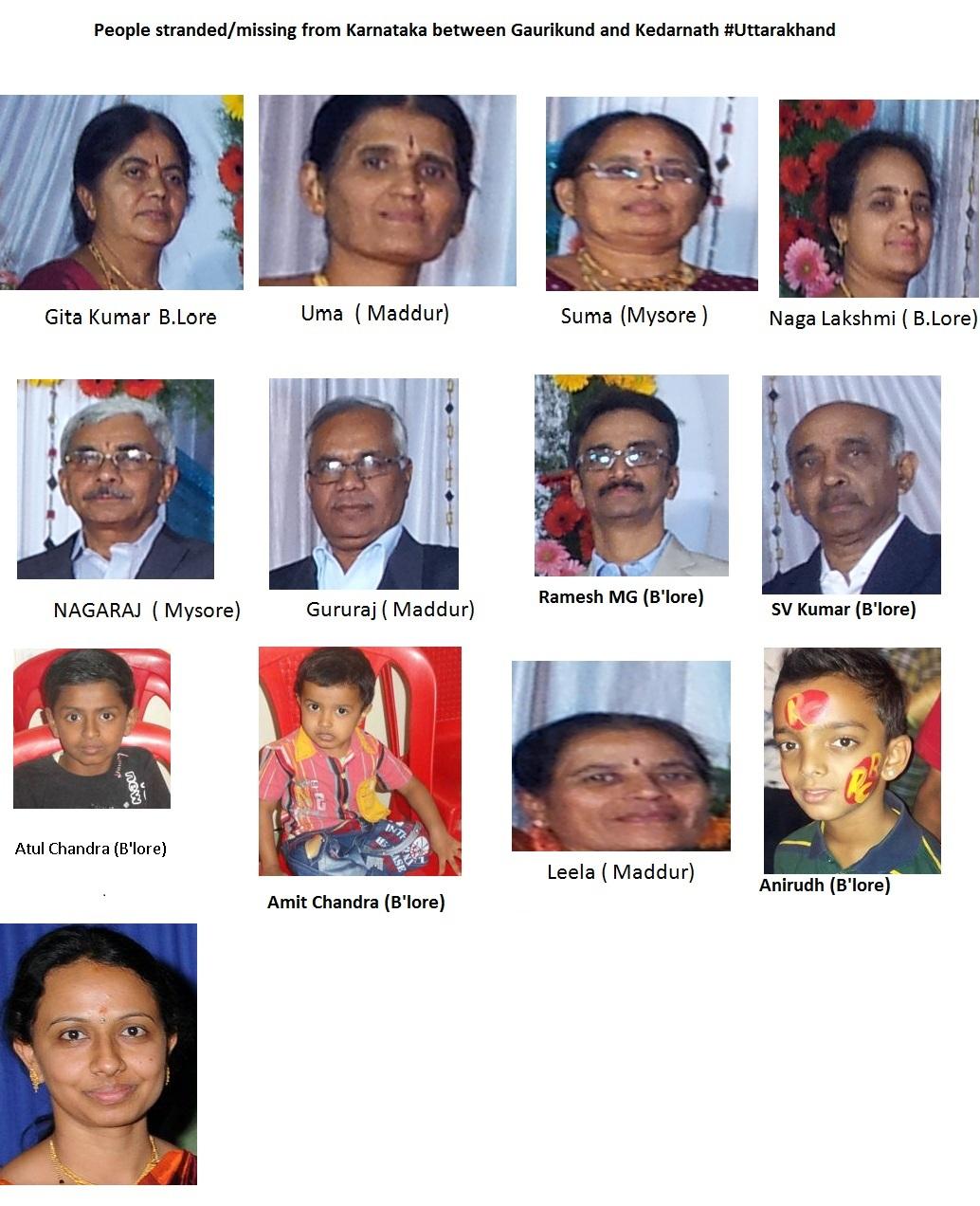 Needs Emergency Help: 13 People of a Family from Karnataka Missing in Uttarakhand