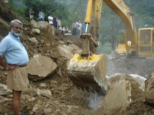Clearing the Debris: RSS keenly working on post flood relief works, now on the reconstruction mechanisms.