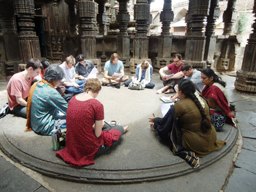 Sanskrit Learning: A Representative Image