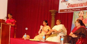 'Samvardhini', a woman' s forum, organised a Talk on Women Issues at Bangalore