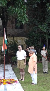 Dr Manmohan Vaidya at New Delhi