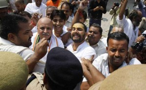 Dr Pravin Togadia was arrested this morning with supporters of VHP.
