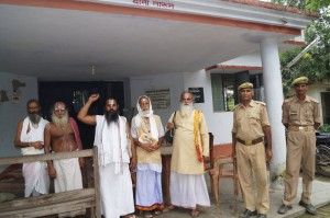 SADHUS ARRESTED AT AYODHYA