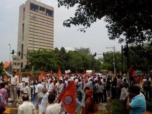 VHP Protest near Jantar Mantar New Delhi