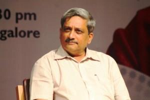 Goa CM Manohar Parikkar