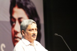 Goa Chief Minister Manohar Parikkar at Intellectual Meet-Bangalore