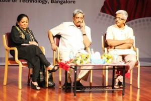 Speakers: Madhu Kishwar, Goa CM Manohar Parikkar, Dr Balasubramaian