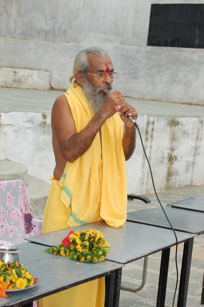 Sitarama Kedilaya Speaks at Mewara of Rajasthan recently