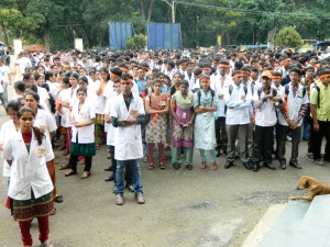 Hasan: Medical Students participated in RUN FOR BHARAT