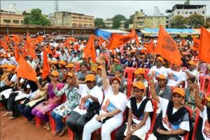 Hubli- Vivek Jagruti Marathon: RUN FOR NATION