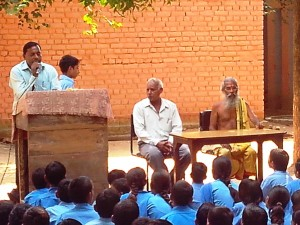 Kedilaya's Bharat Parikrama Yatra enters Haryana