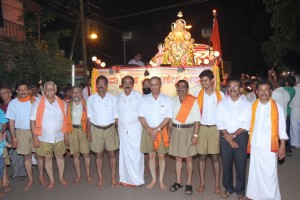 RSS organising team of Ganesh Festival, Mangalore