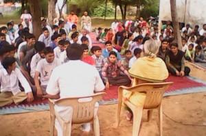 Sitaram Kedilaya visted a college at Mahendragadh Jilla of HARYANA