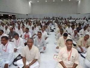Delegates attending RSS ABKM Meet at Kochi