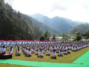 Swayamsevaks at Uttarakashi