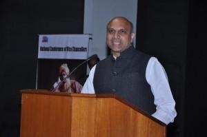 HRD Minister Pallam Raju speaks