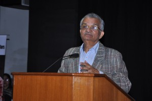 Former Chairman, Atomic Energy Commission Dr. Anil Kakodkar addressing the delegates in inaugural function