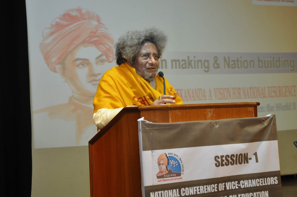 "Speech by Dr. Pranav Pandya (Chancellor, Dev Sanskriti Vishwavidyalay, Haridwar) on ""Man making & National Resurgence"""