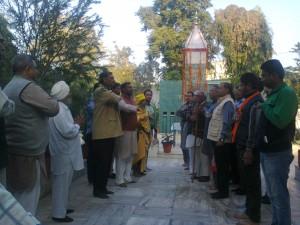 Bharat Mata Ki Prathana Shahidi Samarak Moga Main