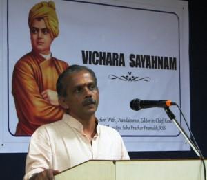 J Nandakumar, RSS Akhil Bharatiya Sah Prachar Pramukh