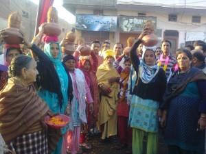 Kalash Yatra Dubara moga main swagat