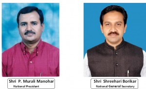 Murli Manohar and Shrihari Borikar elected as National President and General Secretary of ABVP