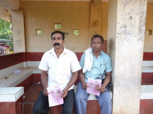 Villagers caught these two Christian Missionary Activists in Belinja