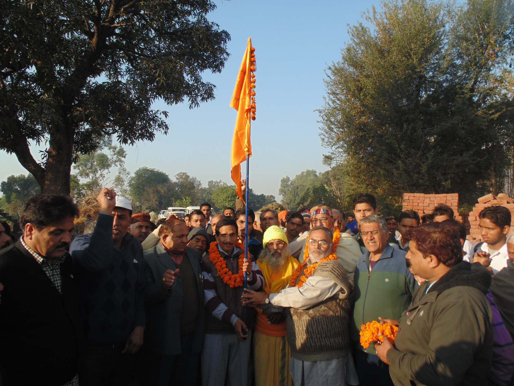 Began from Kanyakumari, BHARAT PARIKRAMA YATRA reaches Jammu and Kashmir on Day-490
