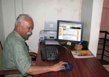 FILE PHOTO: Mohan Bhagwat, the then RSS Sarakaryavah inaugurated www.samvada.org on August 3, 2006 in Bangalore