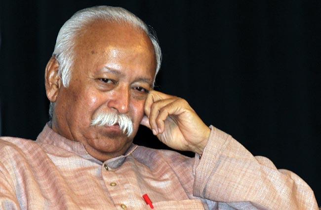 Dr Mohan Rao Bhagwat, RSS Sarasanghachalak