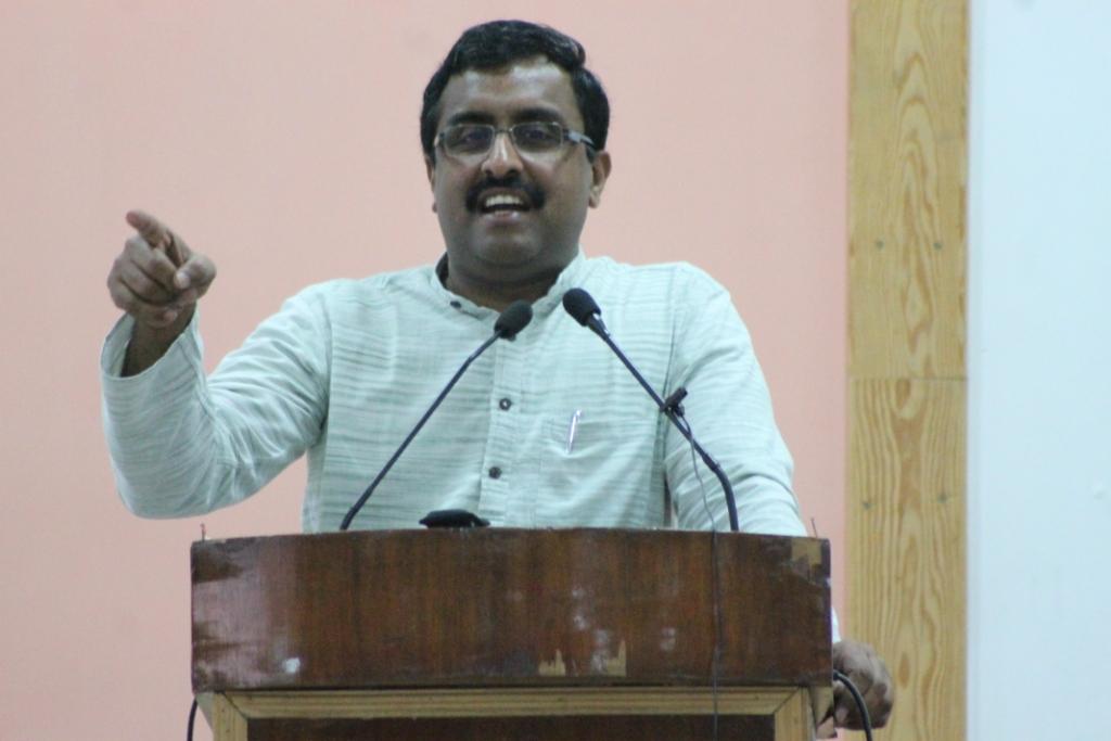 Ram Madhav, RSS senior functionary