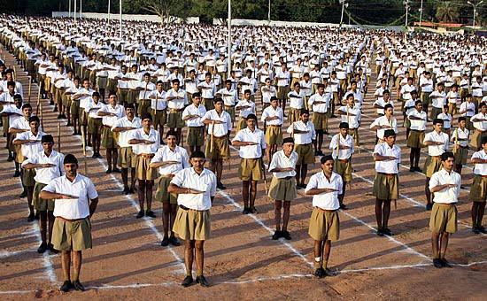 Audio: RSS Prarthana 'Namaste Sada Vatsale Mathrubhoome'