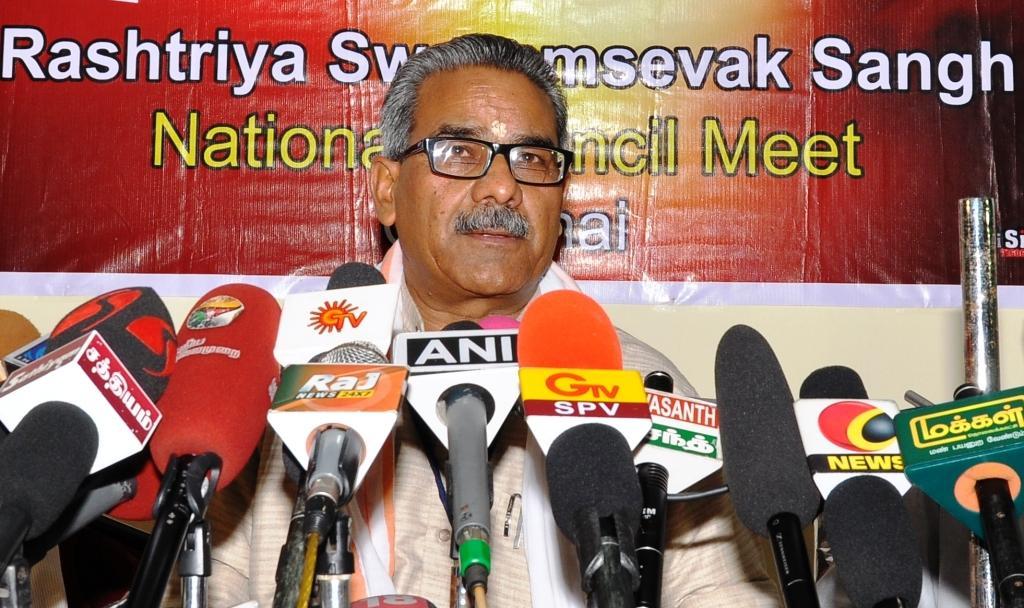 Dr Krishna Gopal, RSS Sah-sarakaryavah