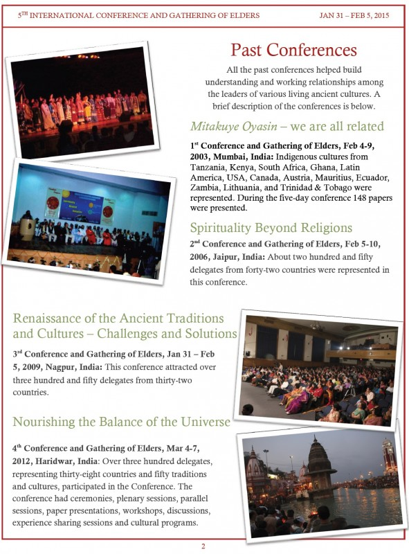 5th International Conference and Gathering of adults- Mysore-Jan-Feb-2015 Page-2