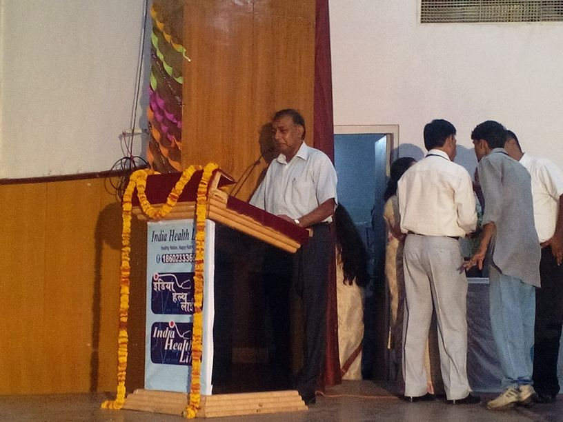 Dr I. D. Gupta - M.D. (Psychiatry) & President of RSS's NMO
