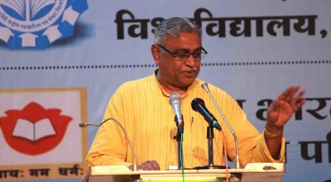 Dr Manmohan Vaidya, RSS
