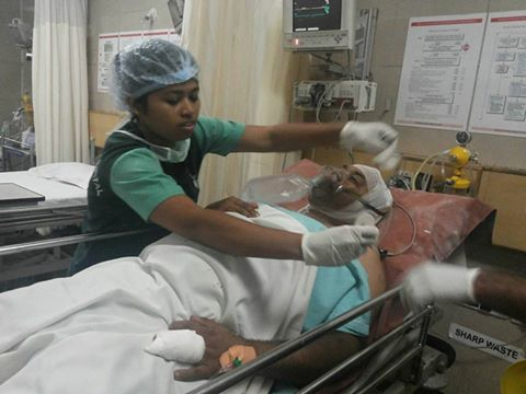 Phanindra -RSS waS worker attacked on AUG 14 2014
