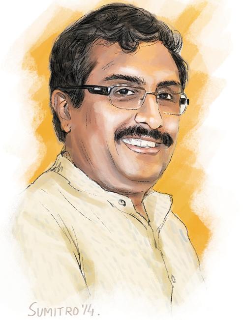 Rama Madhav-Telegraph
