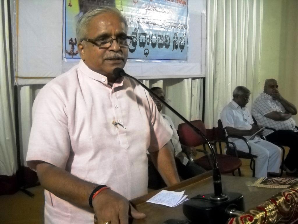 RSS Sarakaryavah Bhaiyyaji Joshi