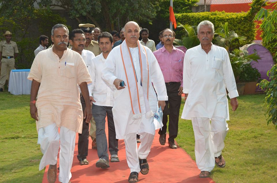 Dr Pravin Togadia with Gopal VHP