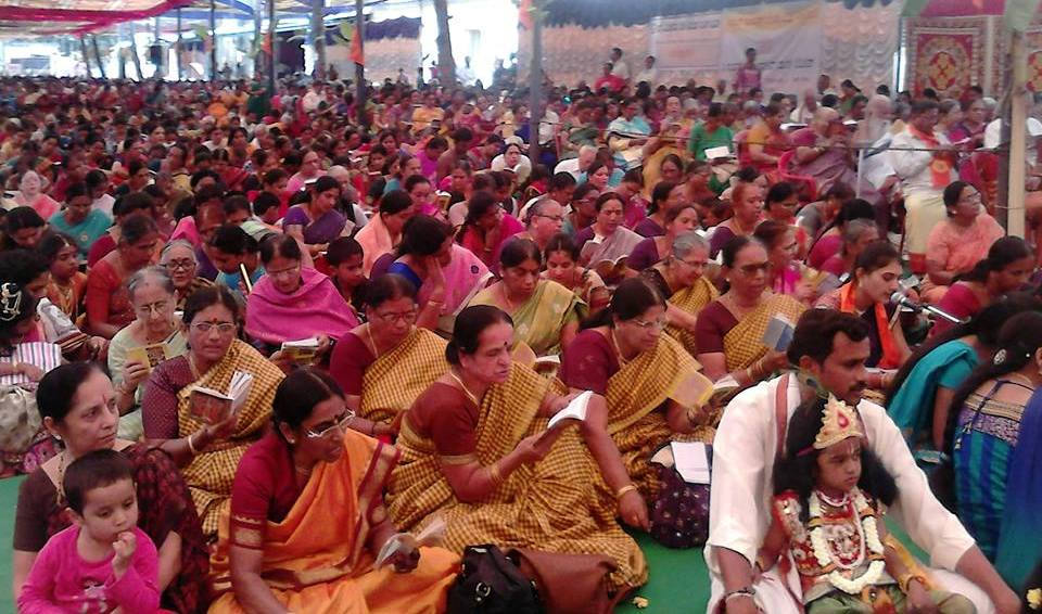 Over 7000 attended VHP organised 22nd annual Geeta Jayanti Festival in Bengaluru
