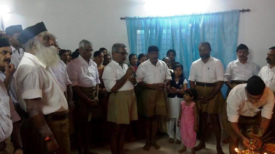 RSS Sahsarakaryavah Dr Krishna Gopal inaugurated 'Madhava Seva Kendram', in memory of late Manoj