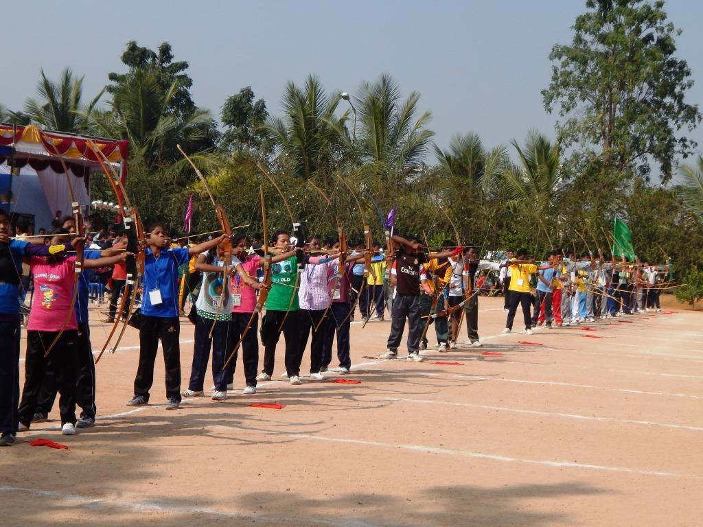 Vanavasi Kalyan organised 3day National Archery Competition for Vanavasi's at Bengaluru