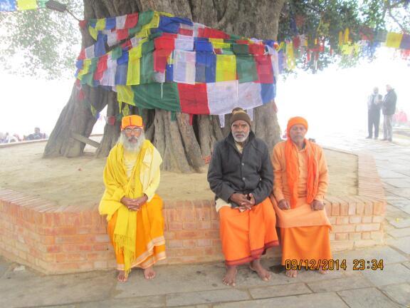 PHOTOS: Sitarama Kedilaya visits Lumbini, Birth Place of Goutham Buddha at Siddharth Nagar in Nepal