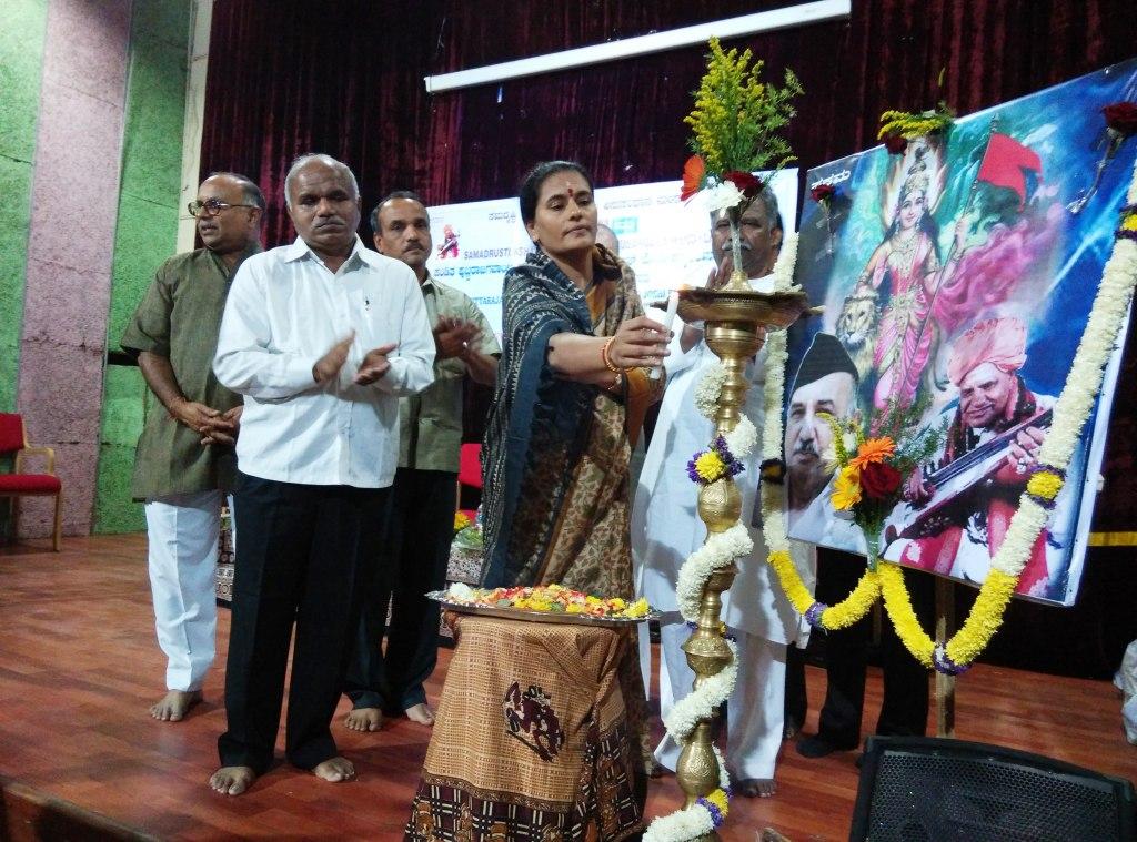 Bengaluru: SAKSHAMA celebrates Birth Centenary of Pandit Puttaraja Gawayi and Yadavarao Joshi