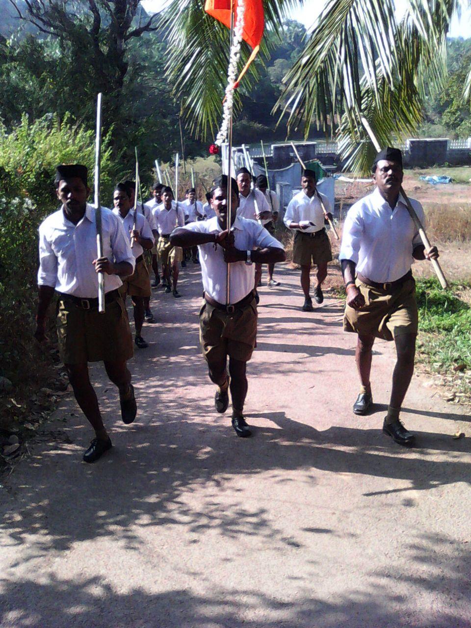 RSS Path Sanchalan at Bakrebailu
